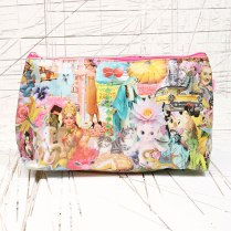 A kitch and colourful bag to put all your make up! Karma Large Toiletry Bag, £24 from Urban Outfitters